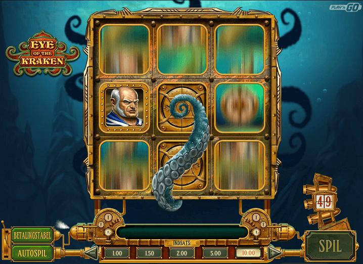 Spilleautomater under havets blå overflade