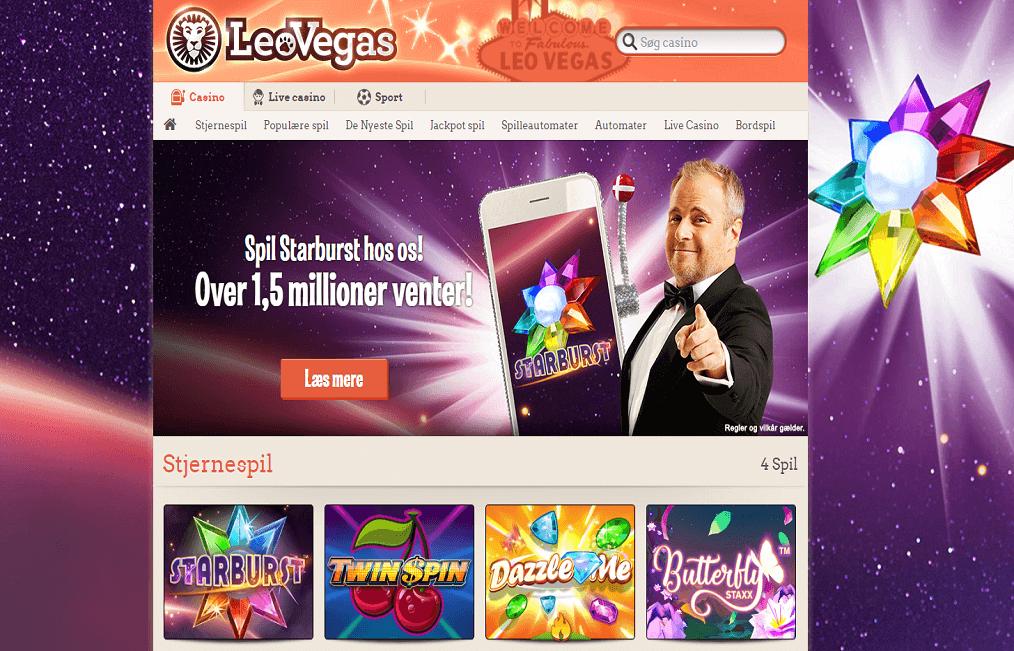 Vind free spins, Iphones og kontante præmier med LeoVegas