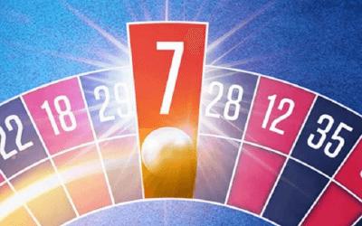 Ram 7 på rouletten og vind kontanter hos NordicBet!