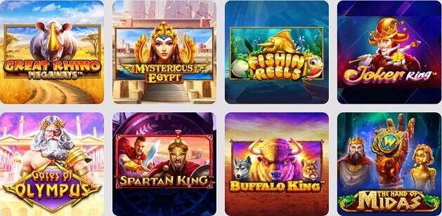 Casino999 Spiludvalg